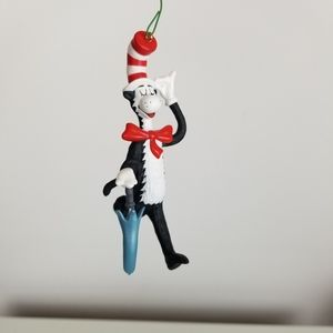 The Cat Arrives Dr Seuss Hallmark Ornament